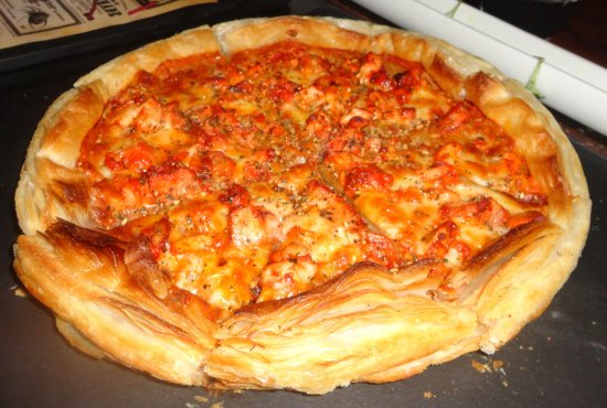 chicken Cheese Panner Pizza
