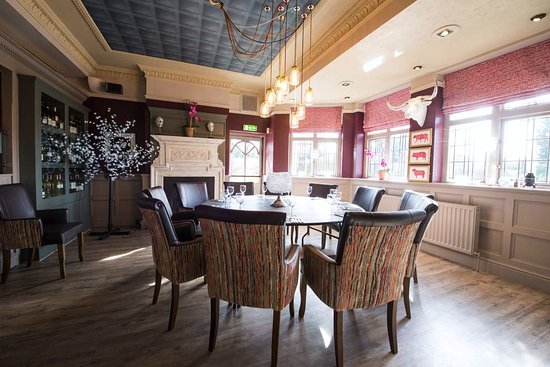 Worcestershire, UK: Cosy private room for business or pleasure meals.