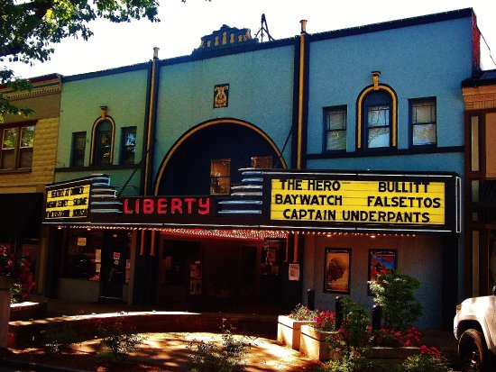 The Liberty Theater in Historic Camas