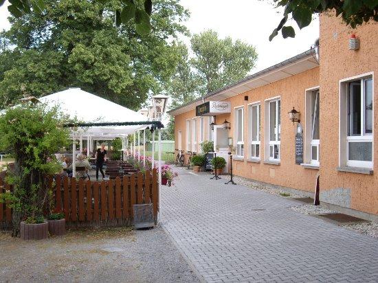 Radeberg, Germany: Sportheim - Außenansicht