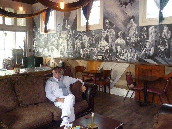 Jim Thorpe, PA: Ottimo cappuccino in un bar caratteristico...