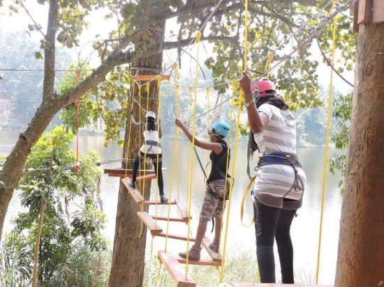 Kabale, Uganda: High Ropes