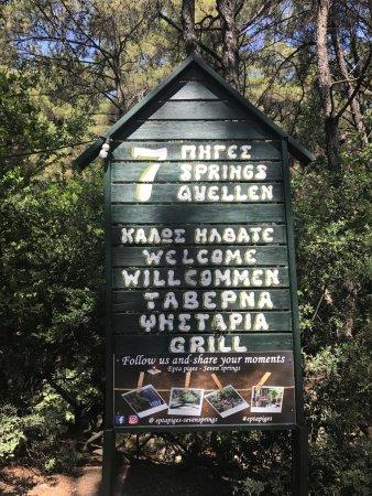 Taverna Epta Piges - Seven Springs, Archangelos - Restaurant Reviews