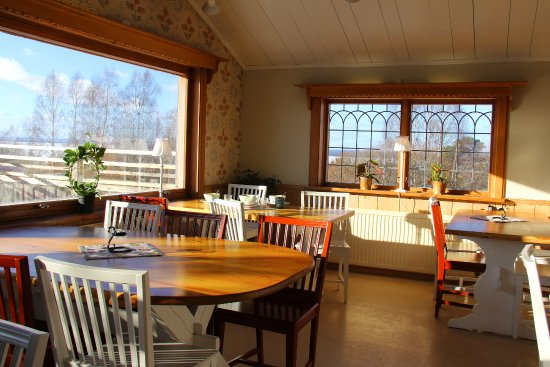Tallberg, Sweden: Delightful Swedish meals in rooms from the previous century at Dalmal Kafe & Kok