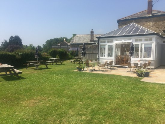The Strand Bistro: Huge back garden perfect for summer evenings
