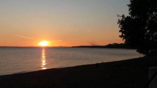 Altagracia, Nicaragua: Zachód słońca
