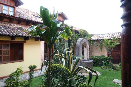 Hotel Casavieja: Cortiletto interno