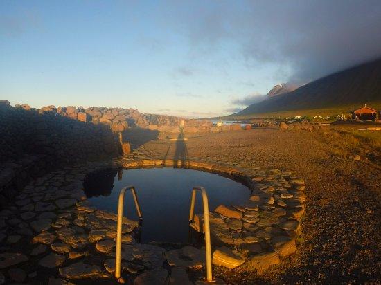 Sauðárkrókur, Island: Le petit bassin