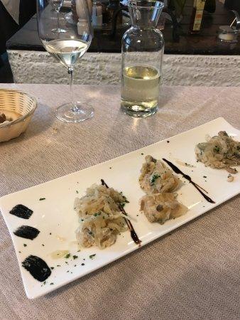 Osteria Al Borgo Antico: Tris in saor