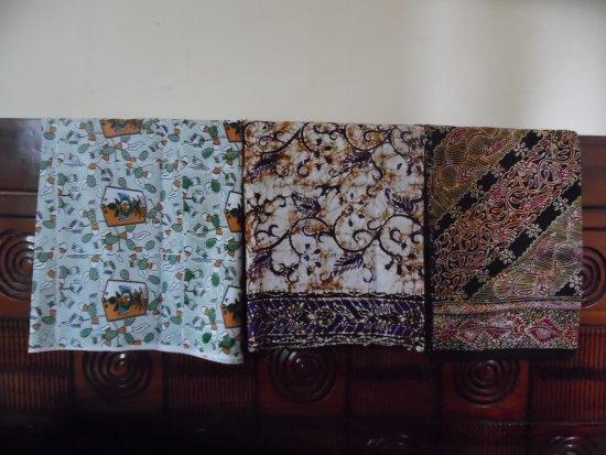 Tuban, Indonesien: batik berkualitas premium