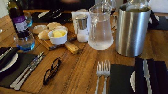 Oswestry, UK: table setting