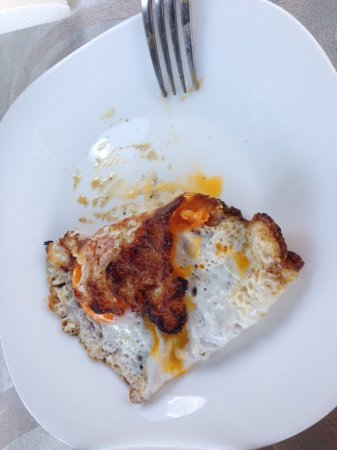 Hotel Golden Place: My new not burned egg