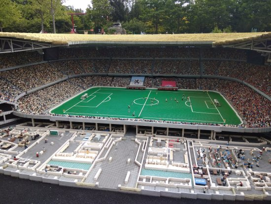 Allianz Arena, Lego land Germany - Picture of Legoland Germany ...