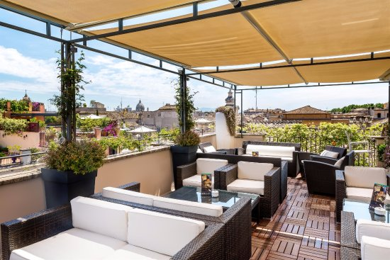 Hotel indigo rome st george updated 2018 prices for Terrace shed ideas