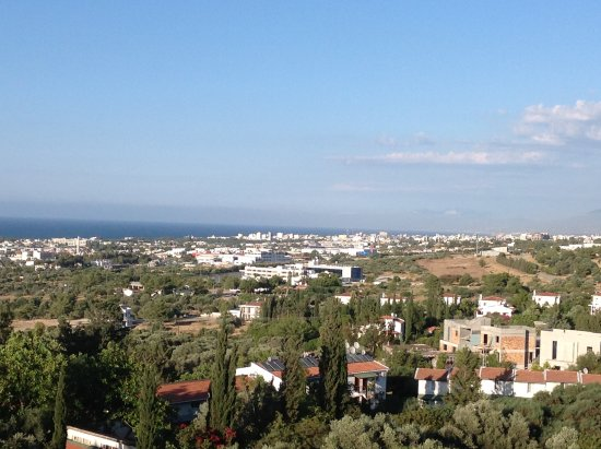 Edremit (Trimithi), Cyprus: View towards the sea