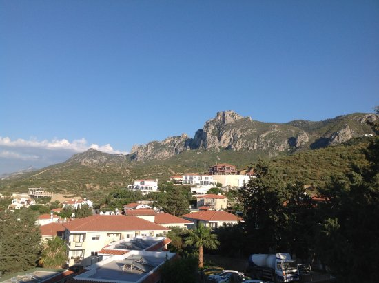 Edremit (Trimithi), Cyprus: View of mountains