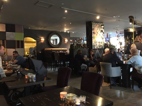 Diemen, The Netherlands: Indruk indeling restaurant 1