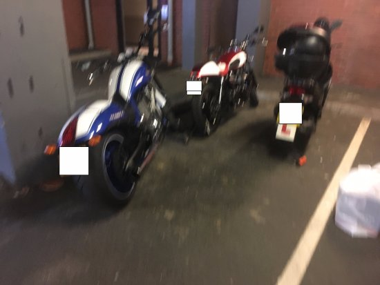 Premier Inn London Hanger Lane Hotel: £10 parking fee for motorcycles same as cars even though several motorcycles fits in one car spa