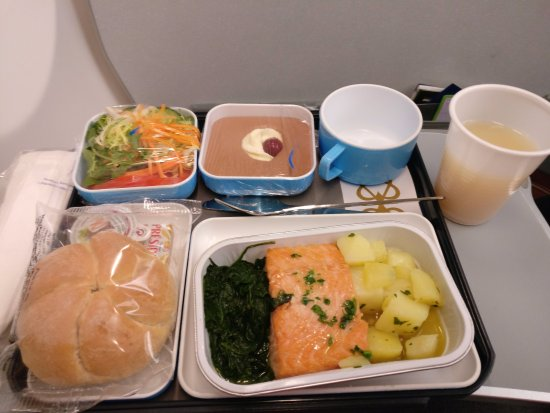 Meal On Economy Class Picture Of Egyptair Tripadvisor