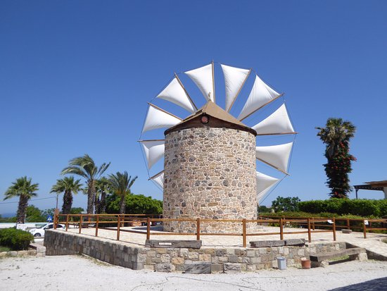 ‪The Antimachia Windmill‬