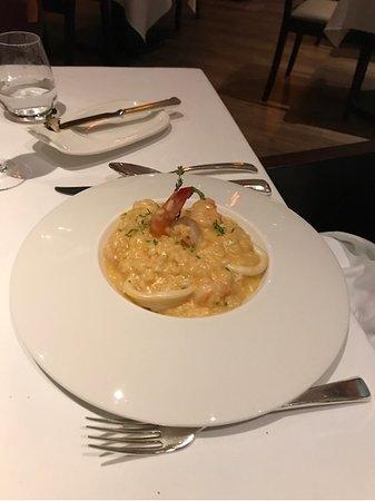 Almost a real Italian food in Abu Dhabi
