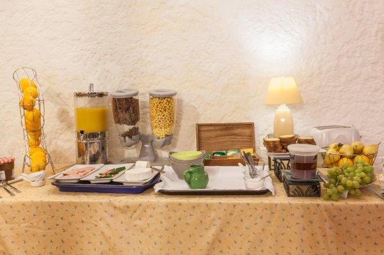 Villandraut, Frankrig: petit dejeuner