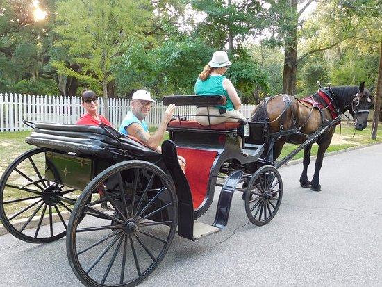 Camden, Güney Carolina: Carriage ride