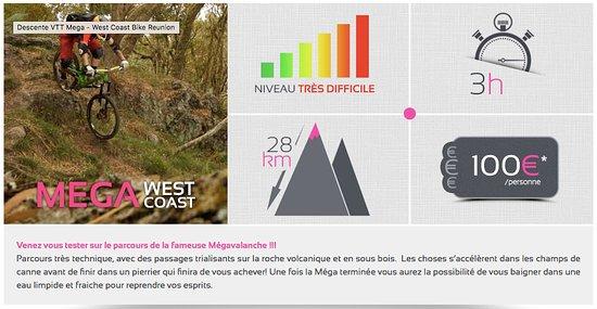 Saint-Gilles-Les-Bains, Reunion Island: VTT Réunion Maïdo : Mega westcoast (niveau expert)
