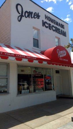 Baldwin, Мичиган: Jones Homemade Ice Cream