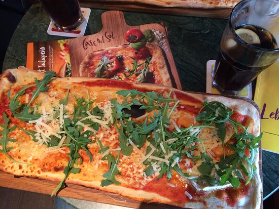 Cafe Del Sol Pizza Meter