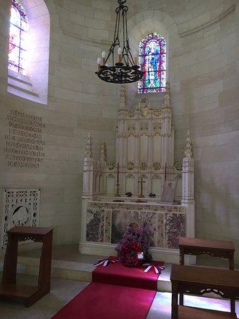 Aisne, Francia: Inside Chapel