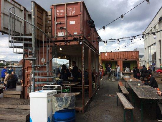 Copenhagen Street Food Shipping Containers Make Great Temporary Bars Restaurants