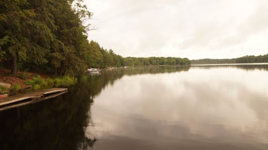 Muskoka District, Canadá: View from the Boat Deck