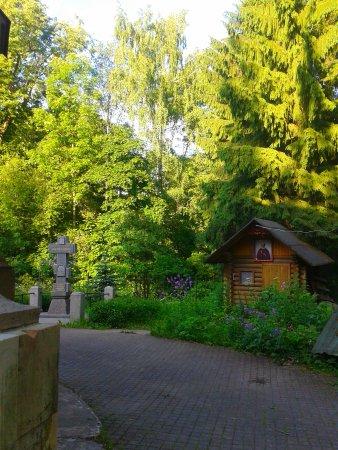 Pargolovo, Rusia: Около церкви Святого Петра и Павла.