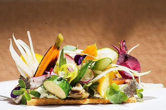Saint-Cannat, Франция: tartelette de légumes