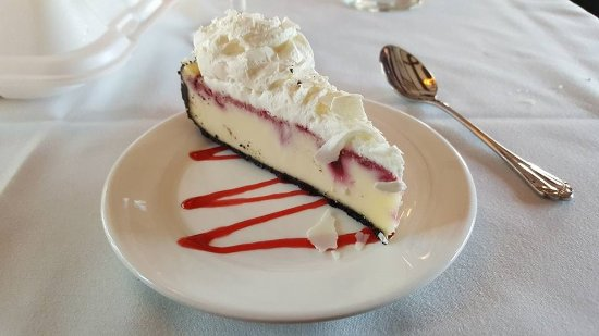 Bardstown, KY: Raspberry white chocolate cheescake