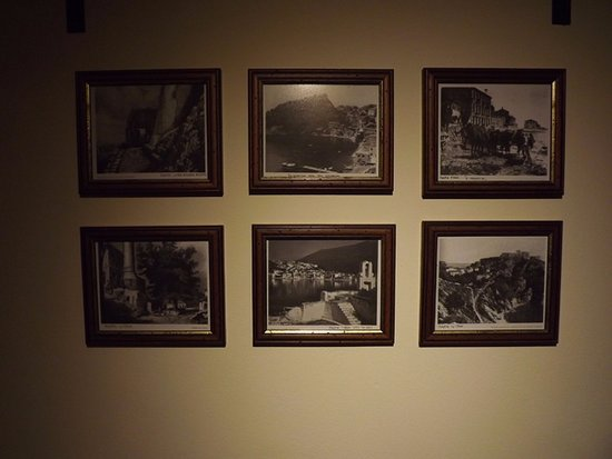 The Old Town Hall: Framed photos in the vestibule