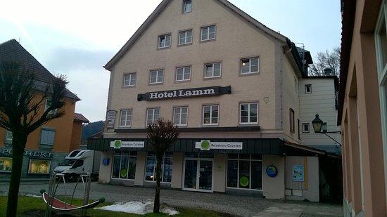 Immenstadt im Allgau, Germany: Pension/Hotel Lamm in Immestadt