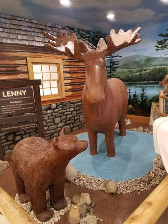 The Chocolate Moose: All made from chocolate :)