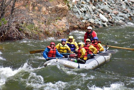Columbia, CA: Merced River rafting