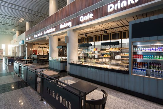 Big Banana: New terminal restaurant