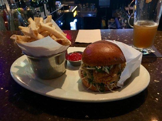 Coquitlam, Kanada: fish burger