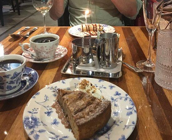 Sfoglina Pasta House Birthday Cake And Coffee