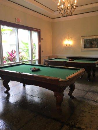Hyatt Ziva Rose Hall: Pool Tables Outside Of Brazil