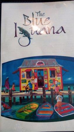 The Blue Iguana Grill: Menu