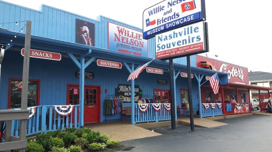 Willie Nelson and Friends Museum and Nashville Souvenirs