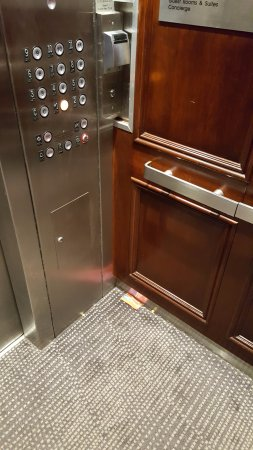 Uniondale, NY: Elevator first thing in the morning...