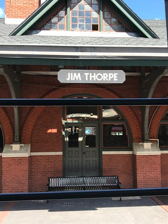 Jim Thorpe Train Station June 2017