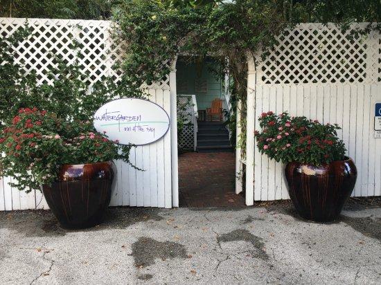 Watergarden Inn at the Bay: rear entrance