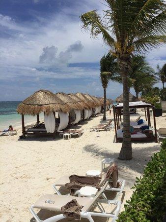 Azul Beach Resort Riviera Maya Cabanas On The